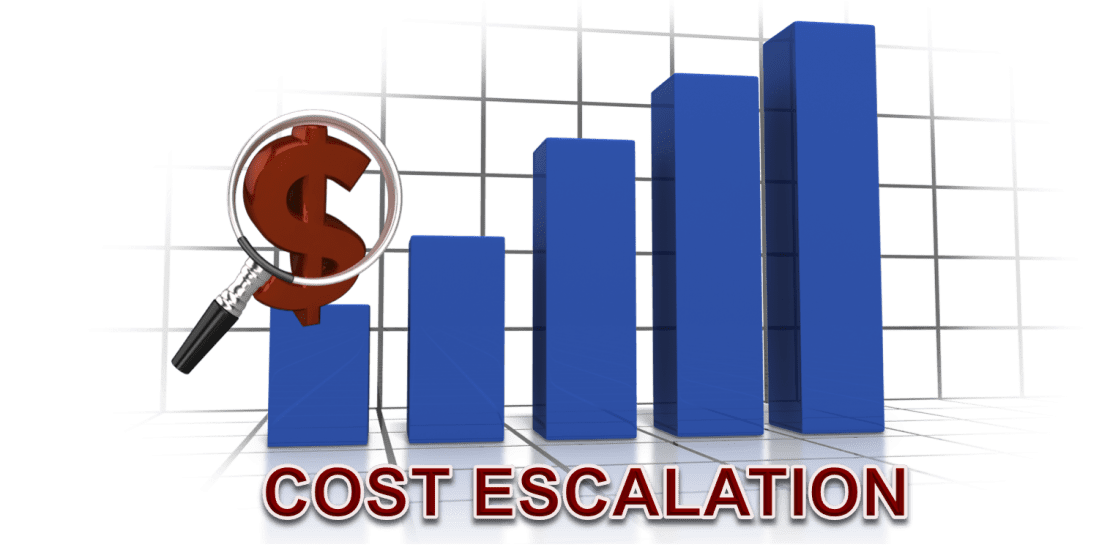 Image result for cost escalation