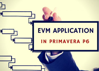 EVM application in Primavera P6