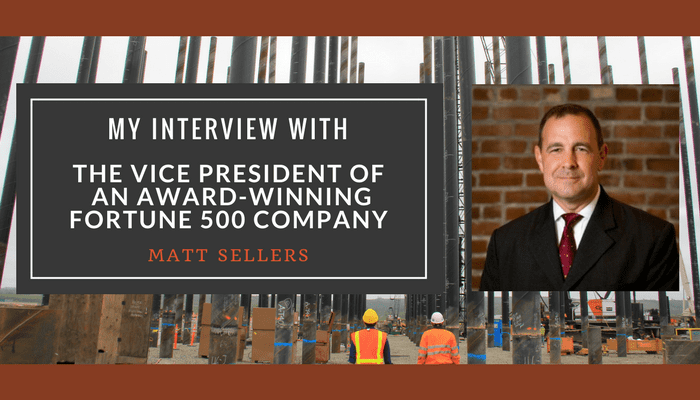 My Interview With the Vice President of an Award-Winning