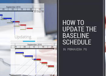 How to update the Baseline Schedule in Primavera P6